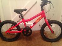 Ridgeback MX-16 kids bike; Red