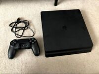 PS4 Slim 500gb - No Games. Boxed. Like New.