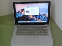 Apple MacBook Pro 13 A1278 Mid 2012 Core i5 2.40GHz 4GB Webcam and comes with original charger.