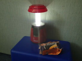 Coleman Camping Lantern (+spare batteries)