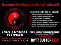 TMA Combat Fitness - Get fit through Karate, Boxing & Callisthenics. P