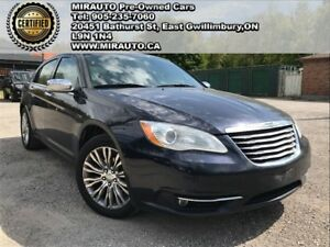 2011 Chrysler 200 One Owner Limited Navi Leather Sunroof