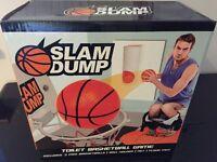 Slam Dump Basketball Toilet Game (Brand New)