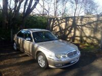 Rover 75 connoisseur 6 months m.o.t, bmw engine