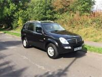 2006 SsangYong Rexton 2.7 TD, great condition, service history, drives well, cheap 4x4