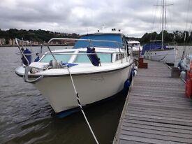 Princess 33 motor boat