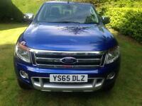 Ford Ranger Limited 2 EU5 2.2 Diesel 65 plate