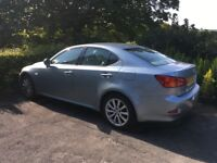 Lexus IS 200 Diesel for sale, lovely condition. Leather seats, new wheels great runner.