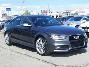 2014 Audi A4 2.0T QUATTRO|S-LINE| 6-SPD.MANUAL|GPS|LEATHER|