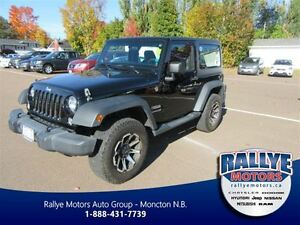 2014 Jeep Wrangler Sport! 4x4! Alloy! ONLY 59K! Trade-In!