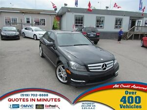 2013 Mercedes-Benz C-Class C 350 4MATIC | LEATHER | NAV | FULLY