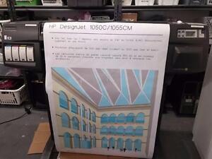 HP DesignJet 1055cm Plus C6075B 36 Large Wide Format Color InkJet Printer PLOTTER