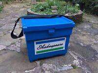 Blue Shakespeare Medium Fishing Seat Box