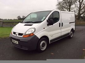 2005 RENAULT TRAFFIC***NICE VAN THROUGHOUT***(NOT VAUXHALL VIVARO NISSAN PRIMASTAR)