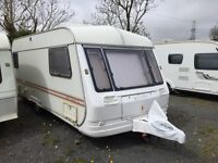 Coachman Genius 500/5 berth touring van for sale.Single axel easy to tow.Have good holidays.
