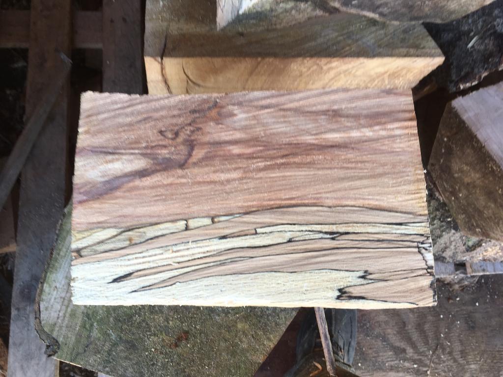 Wood turning wood