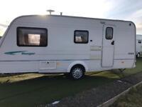 Bailey ranger 4 berth touring caravan