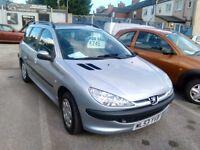 206 For quick sale. BARGAIN PRICE £695