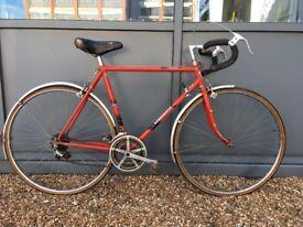 VISCOUNT 56 cm Classic Steel Road Bike 10 speed Classic Original Features