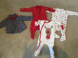 3-6 month Christmas bundle