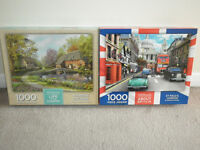Two jigsaws for sale - excellent condition