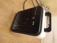 bremmer electric fan heater 3kw