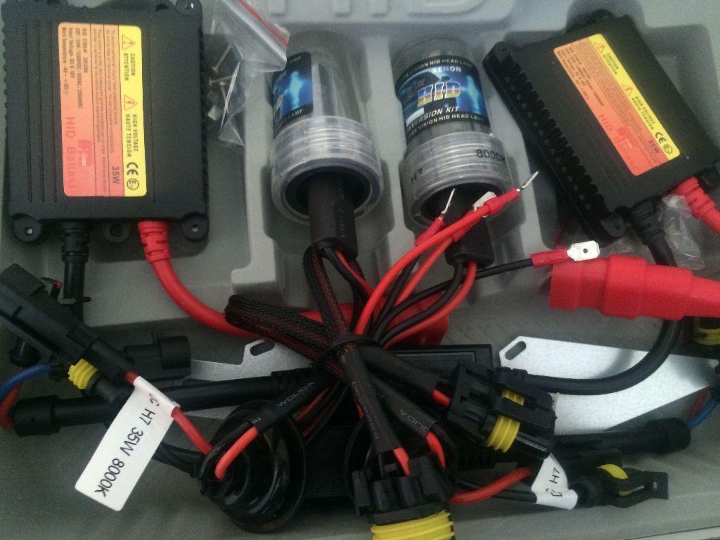 Xenon Hid Kit H7 H3 6000k 8000k In Kilburn London Gumtree Wiring Harness