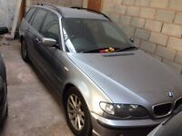 BMW 320D, ESTATE MANUAL 2003, GREY
