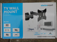TV wall mount full motion arm