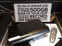 SKY PLUS HD BOX LATEST MODEL DRX890WL-2 BRAND NEW BOXED WITH REMOTE MANUALS 500GB HDD