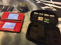 Nintendo DS + Carry Case + 6 Games