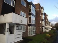 Top floor furnished flat in lovely and peaceful development close to Bury town centre