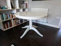 IKEA INGATORP Round Extending Dining Table