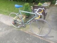 GENTS VINTAGE FRENCH RACEING BIKE 18 GEARS RIDES VERY WELL LIGHT WEIGHT FRAME