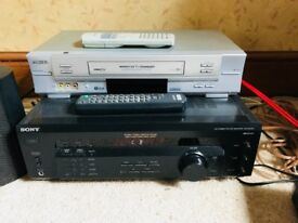 sony receiver /amp good working order