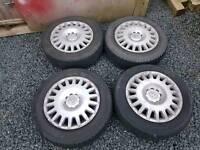 Vauxhall steel wheels