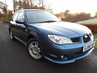 2007 SUBARU IMPREZA RX 5 DOOR 5 SPEED SPORTSBACK 4X4 HI/LO GEARBOX ONE YEARS MOT NEW TYRES