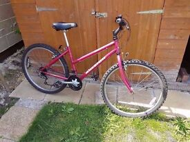 Ladies Raleigh Bicycle good condition