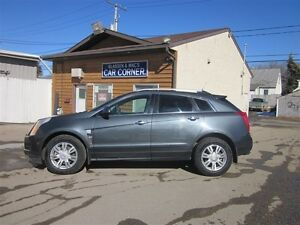 2010 Cadillac SRX leather