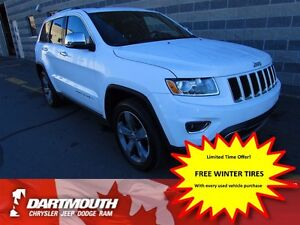 2015 Jeep Grand Cherokee LIMITED/LEATHER 4X4