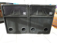 (BARGAIN!!) E.V s181 bass bins