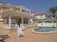 Luxury Spanish Villa, 2 Minute Walk From Beach - Partnership Or For Sale