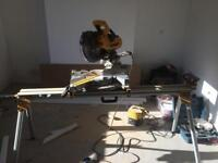 Chopsaw with stand