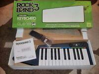 ROCKBAND 3 WIRELESS KEYBOARD FOR XBOX 360 - NEW & BOXED