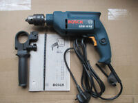 Bosch GSB 16 RE corded variable speed hammer drill.