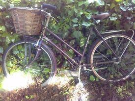 Vintage ladies bike in working order