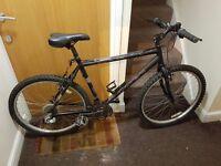 Carrera black Mountain Bike with 26 wheel size