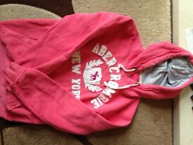 Abercrombie and Fitch womens hoodie