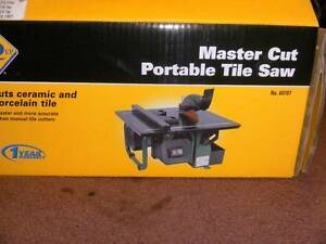 MASTERCUT PORTABLE TILE CUTTER. Longford Northern Midlands Preview