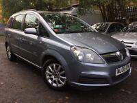 06 plate - Vauxhall Zafira 1.6 - 10 months mot - low millege - service history